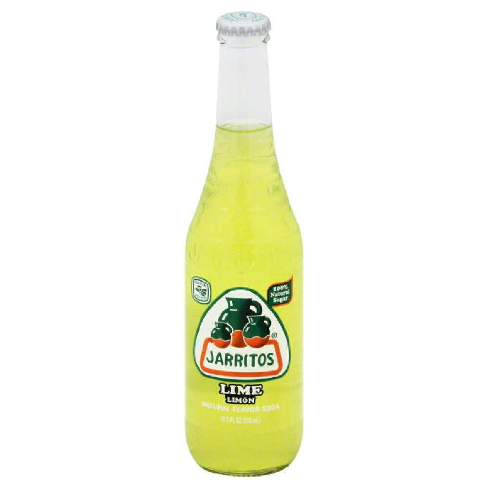Jarritos Lime Soda, 12.5 Oz (Pack of 24)