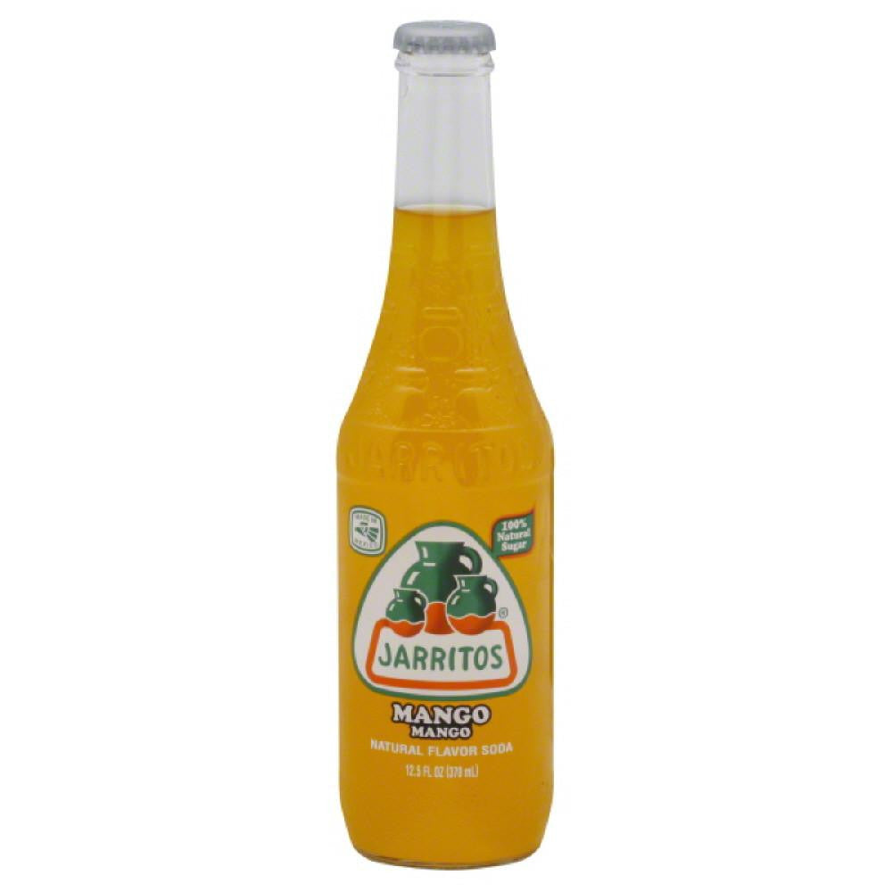 Jarritos Mango Soda, 12.5 Oz (Pack of 24)