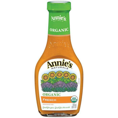Annie's Naturals Organic French Dressing 8 fl. Oz (Pack of 6)