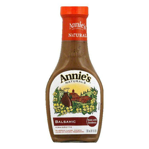 Annies Dressing Balsamic Vinaigrette, 8 FO (Pack of 6)