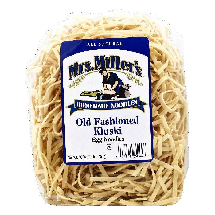 Mrs Millers Kluski Old Fashioned Egg Noodles, 16 OZ (Pack of 6)