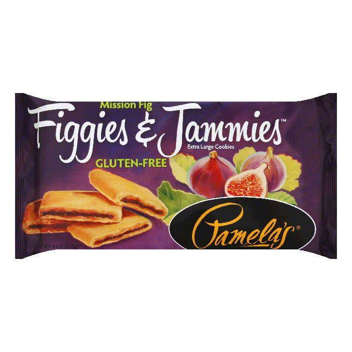 Pamelas Mission Fig Extra Large Cookies, 9 Oz (Pack of 6)