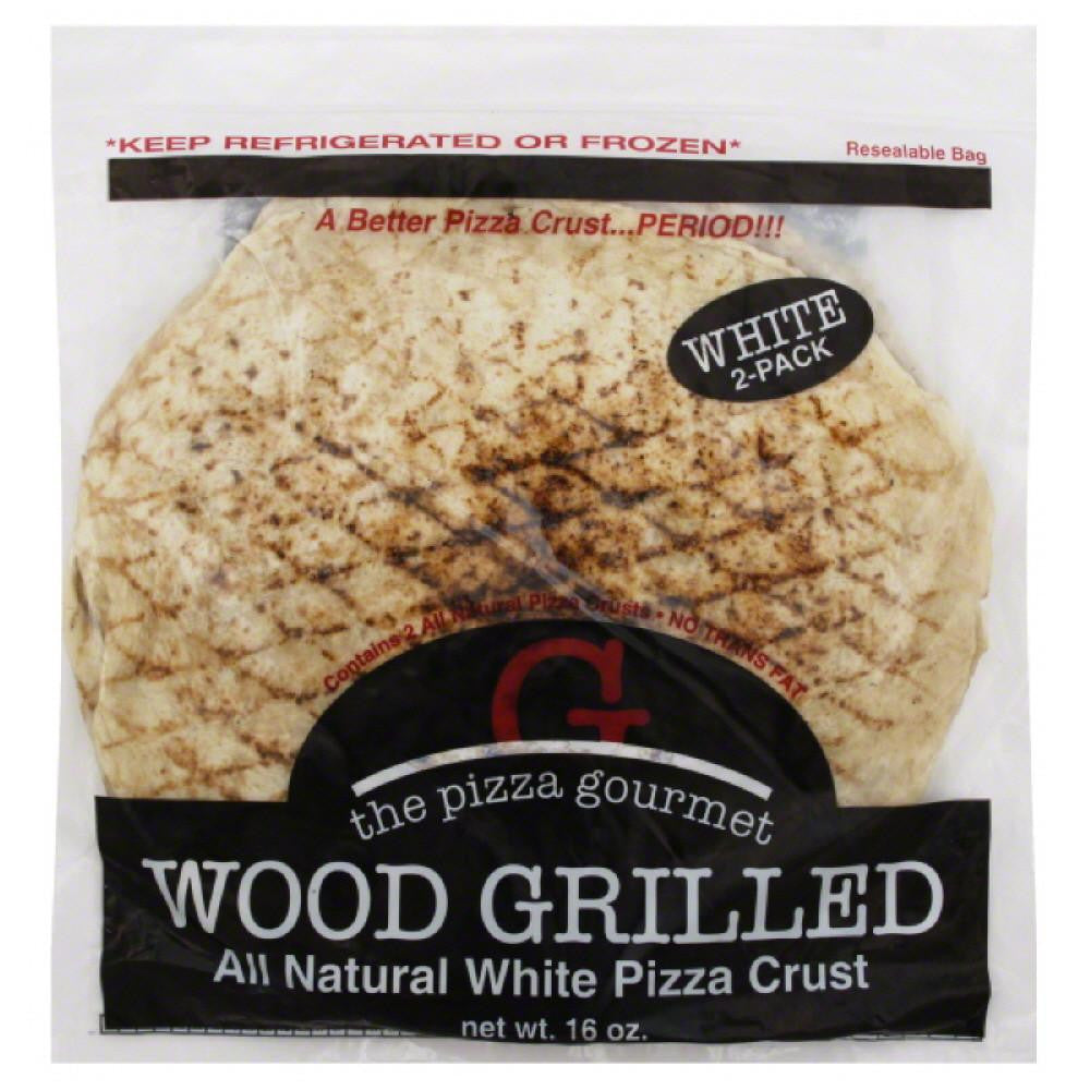 Pizza Gourmet Wood Grilled White Pizza Crust, 16 Oz (Pack of 12)