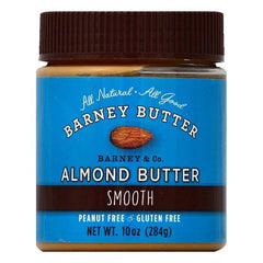 Barney Smooth Almond Butter, 10 OZ (Pack of 6)