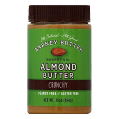 Barney Crunchy Almond Butter, 16 OZ (Pack of 6)