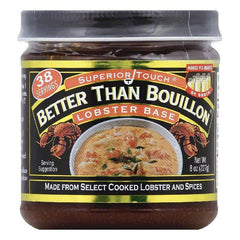 Better Than Bouillon Lobster Base, 8 OZ (Pack of 6)