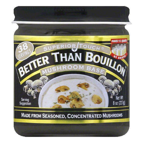 Better Than Bouillon Mushroom Base, 8 OZ (Pack of 6)