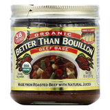 Better Than Bouillon Organic Beef Base, 8 OZ (Pack of 6)