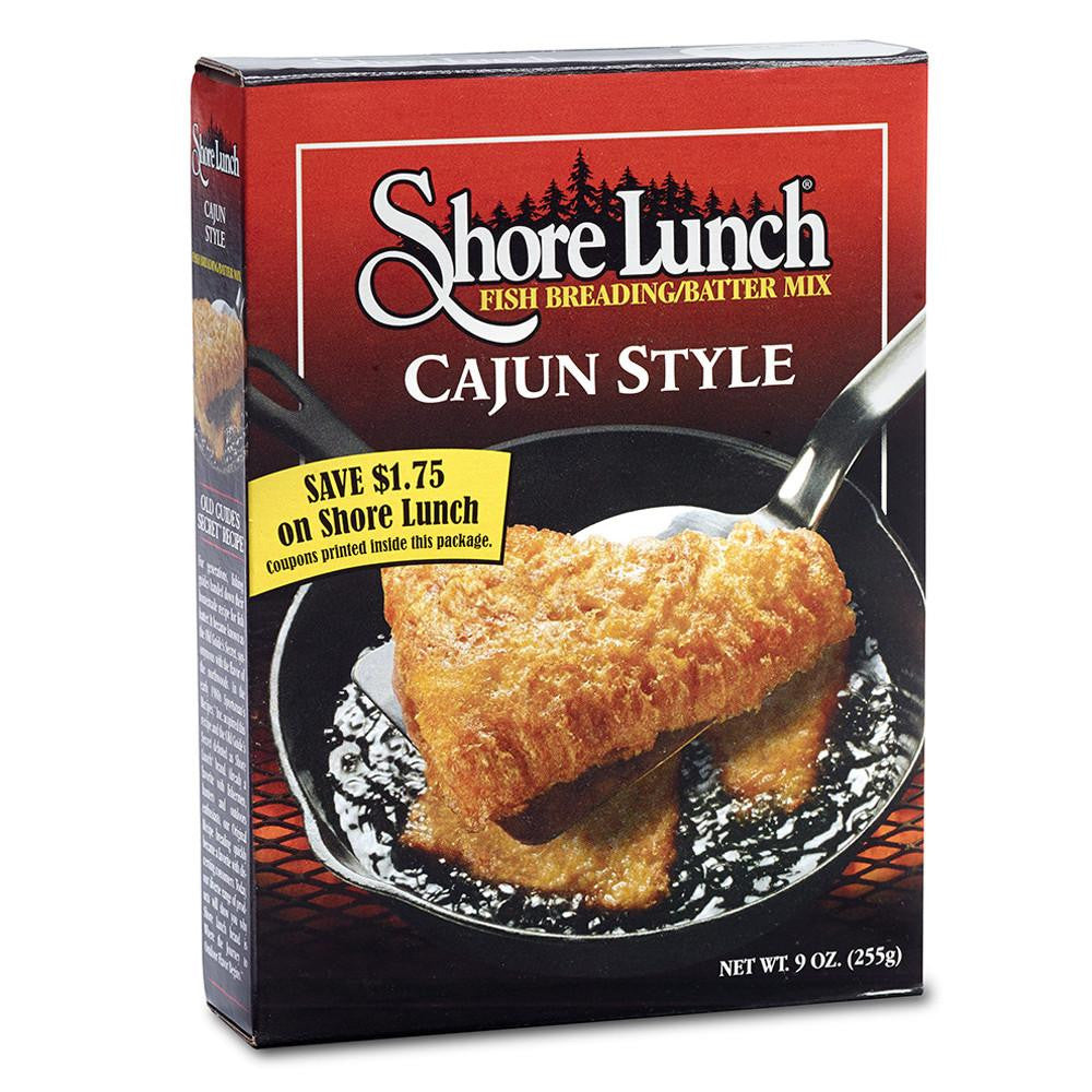 Shore Lunch Cajun Style Fish Breading/Batter Mix, 9 OZ (Pack of 10)
