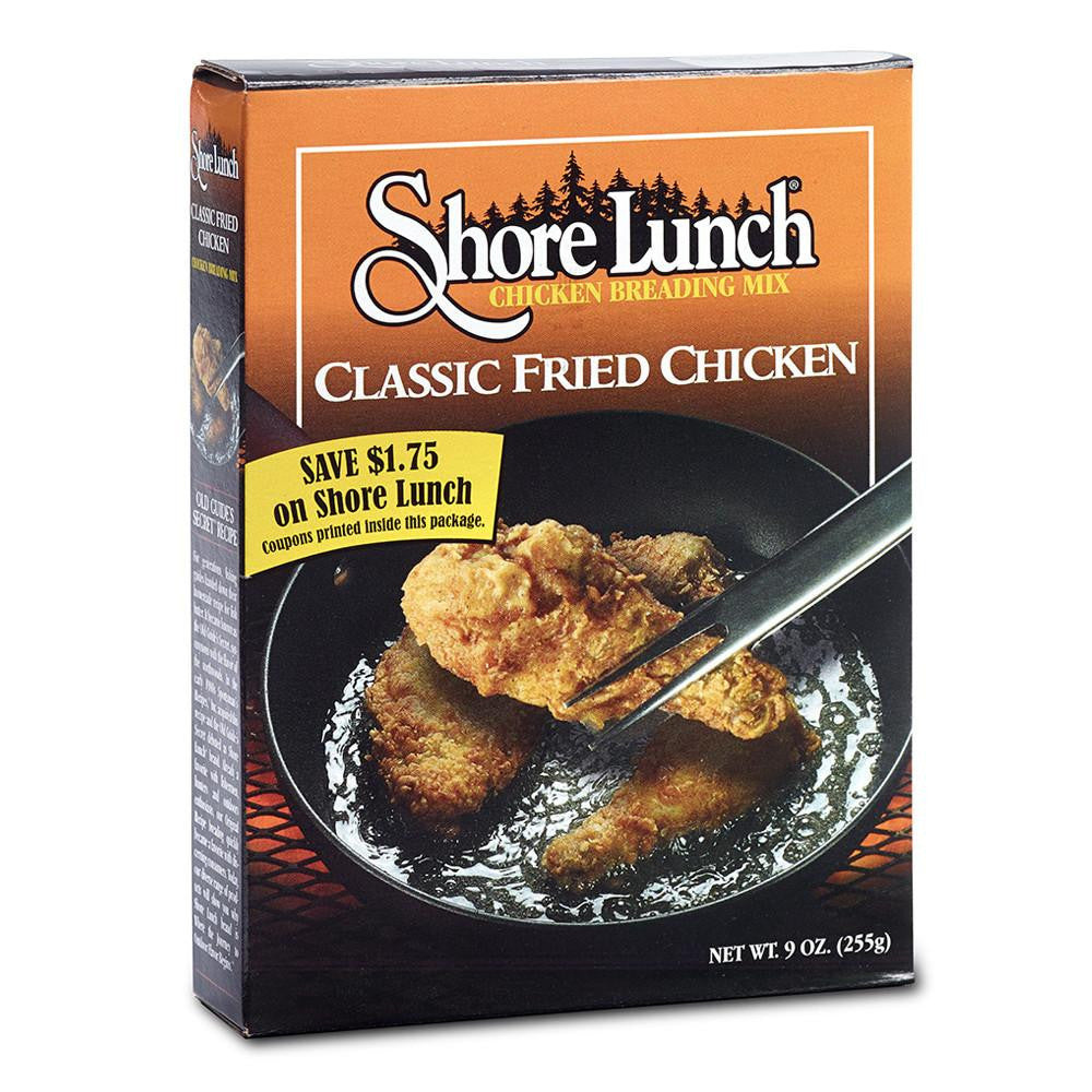Shore Lunch Classic Fried Chicken Breading Mix, 9 OZ (Pack of 12)