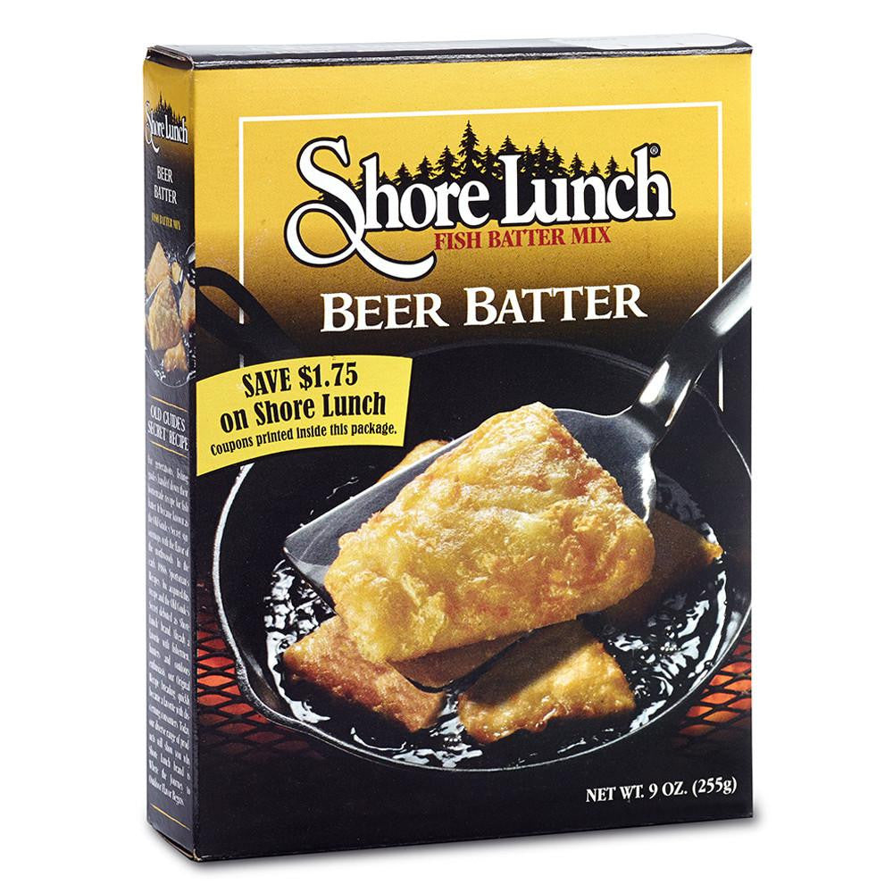 Shore Lunch Breading Mix Beer Batter, 9 OZ (Pack of 12)
