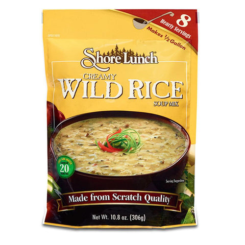 Shore Lunch Creamy Wild Rice Soup Mix, 10.8 OZ (Pack of 6)