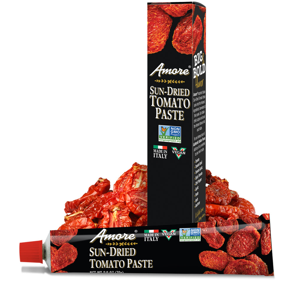 Amore Sun-Dried Tomato Paste, 2.8 OZ (Pack of 12)
