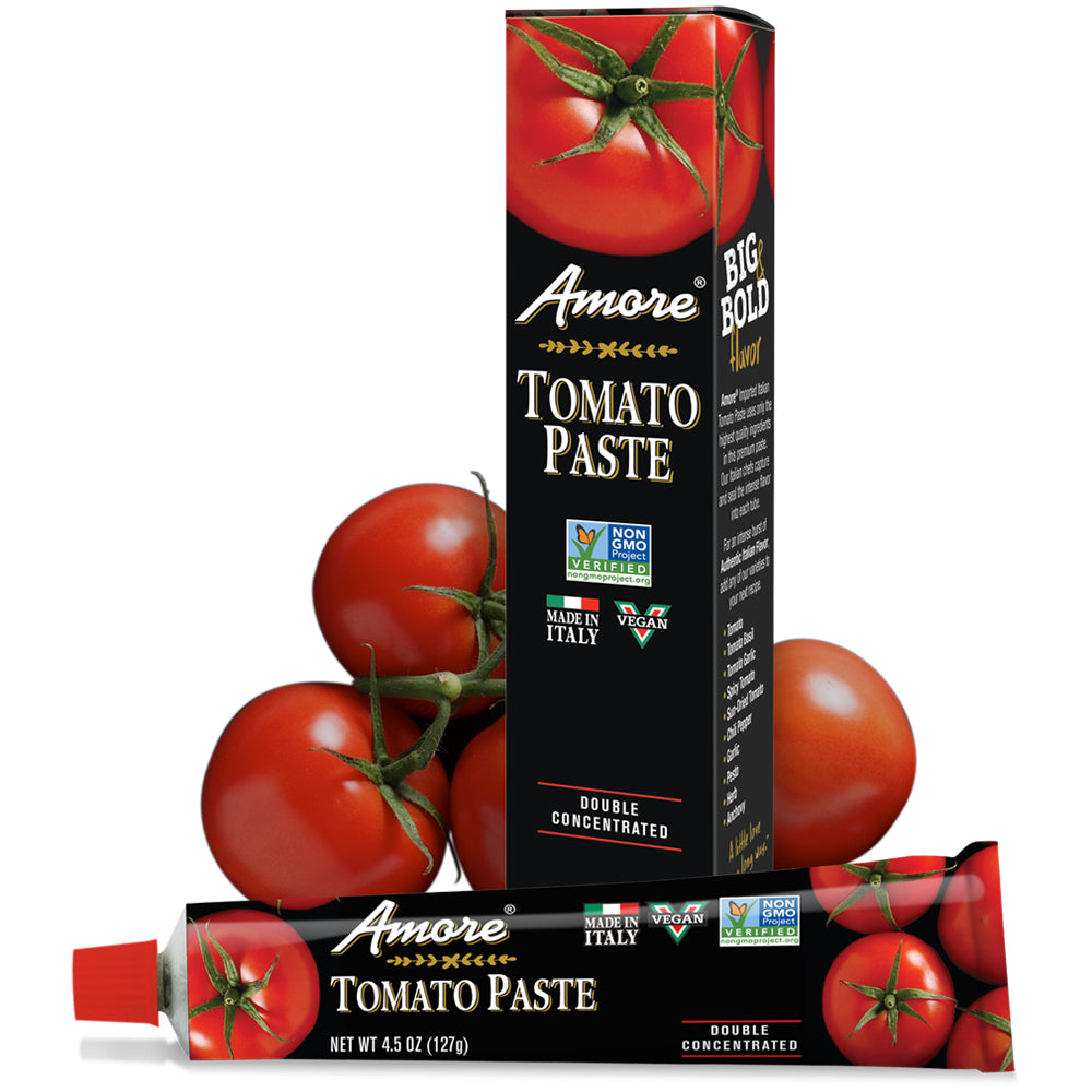 Amore Tomato Paste, 4.5 OZ (Pack of 12)