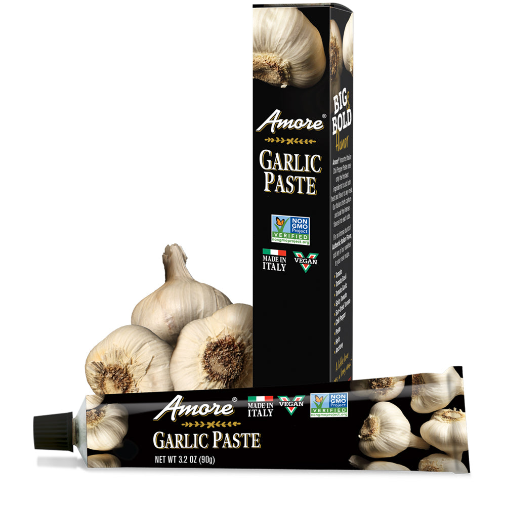 Amore Garlic Paste, 3.2 OZ (Pack of 12)