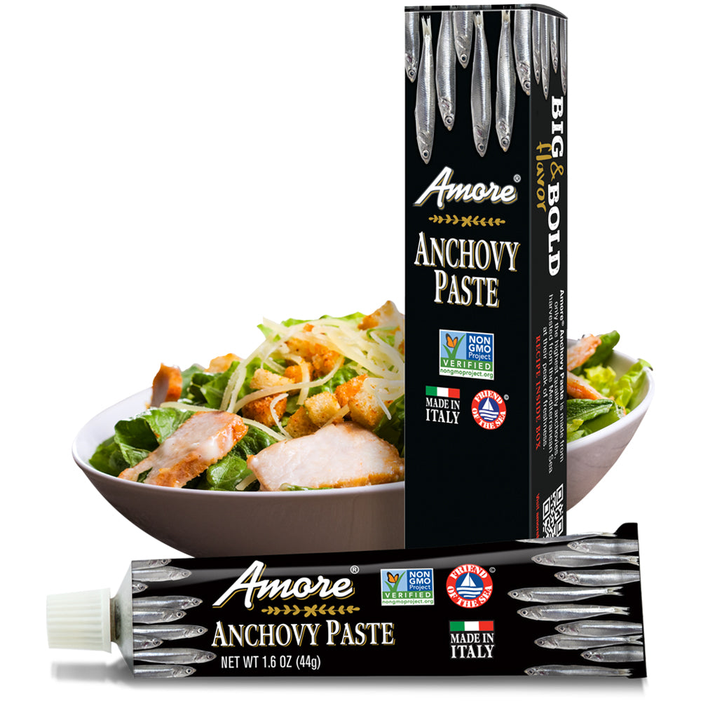 Amore Anchovy Paste, 1.6 OZ (Pack of 12)