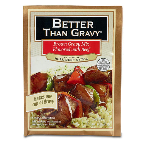 Better Than Gravy Flavored with Beef Gravy Mix, 1.0 Oz (Pack of 12)