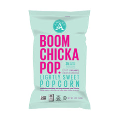 Angie's Boomchickapop Lightly Sweet Popcorn 5 Oz Bag (Pack of 12)