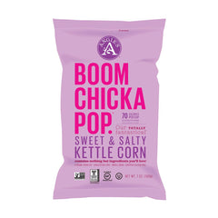 Angie's Boomchickapop Sweet & Salty Kettle Corn 7 Oz Bag (Pack of 12)