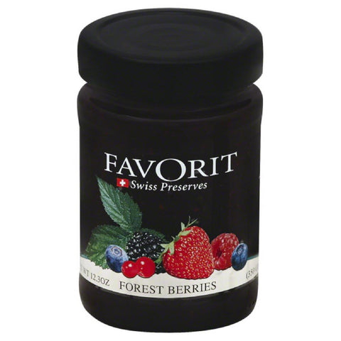 Favorit Forest Berries, 12.3 Oz (Pack of 6)