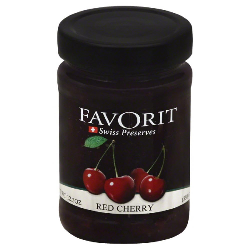 Favorit Red Cherry, 12.3 Oz (Pack of 6)