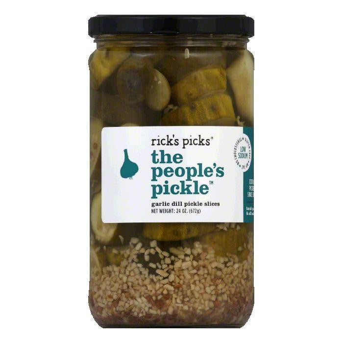 Ricks Picks The People's Pickle, 24 Oz (Pack of 6)