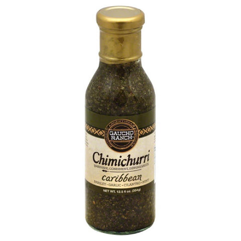 Gaucho Ranch Caribbean Chimichurri, 12.5 Oz (Pack of 6)