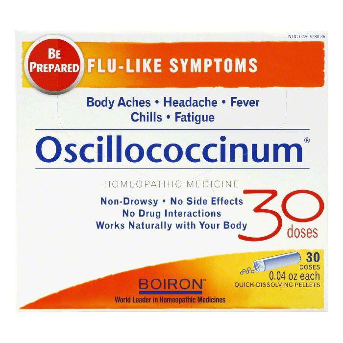 Boiron Family Value Pack Quick-Dissolving Pellets Oscillococcinum, 30 TB (Pack of 6)