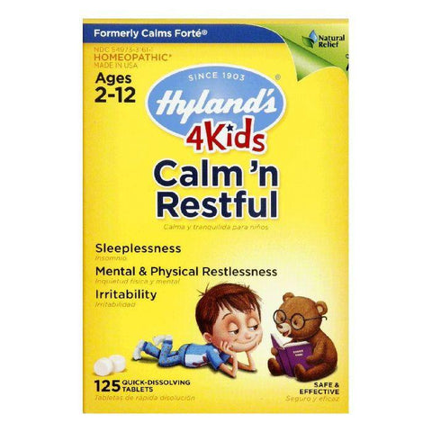Hylands Ages 2-12 Calm , 125 TB
