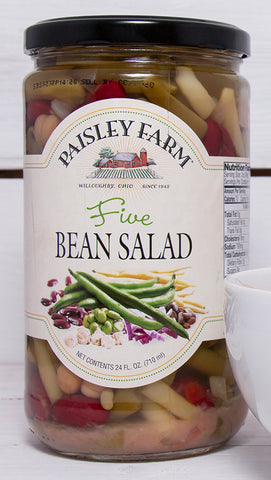 Paisley Farm Five Bean Salad, 24 OZ (Pack of 6)