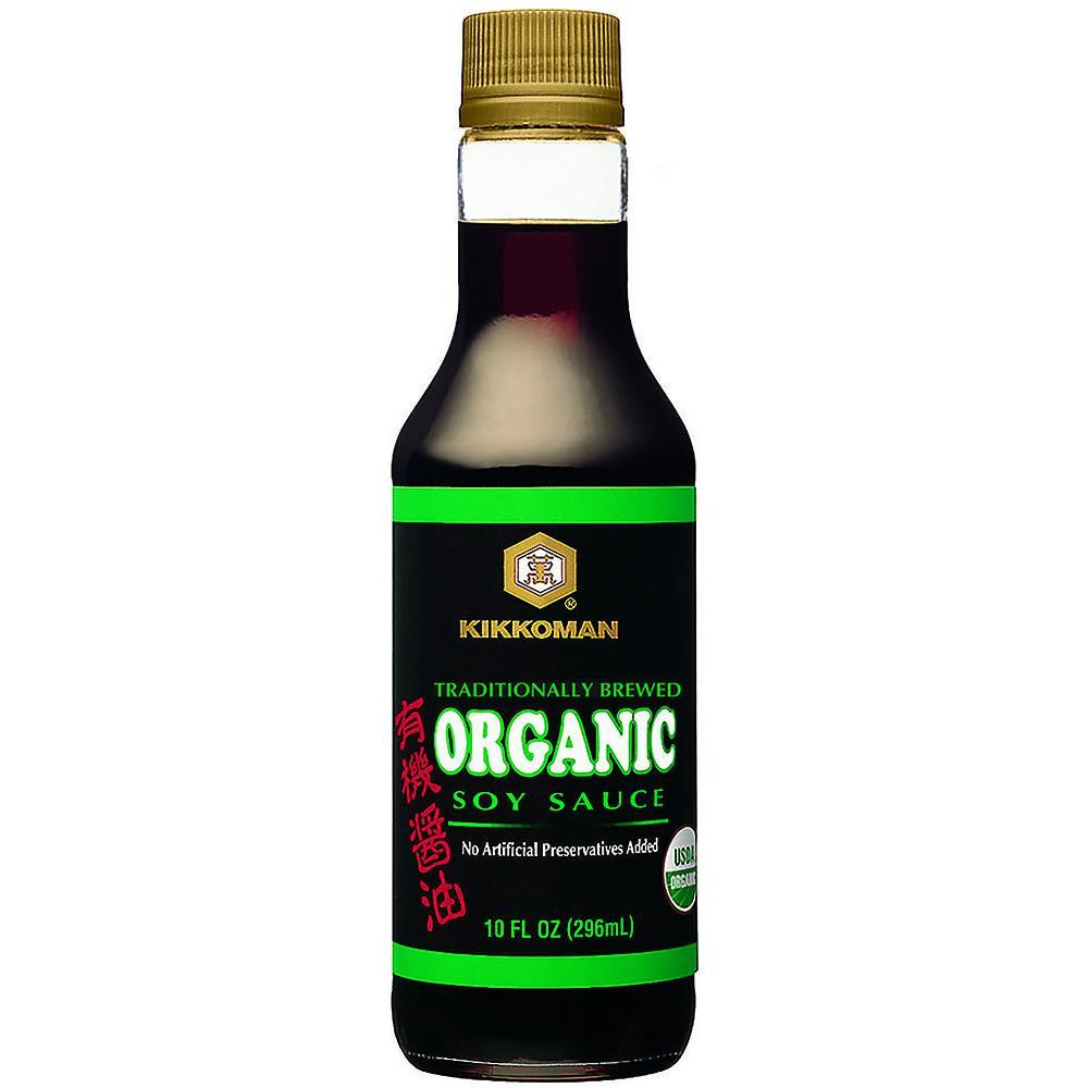 Kikkoman Organic Soy Sauce 10 Oz (Pack of 6)