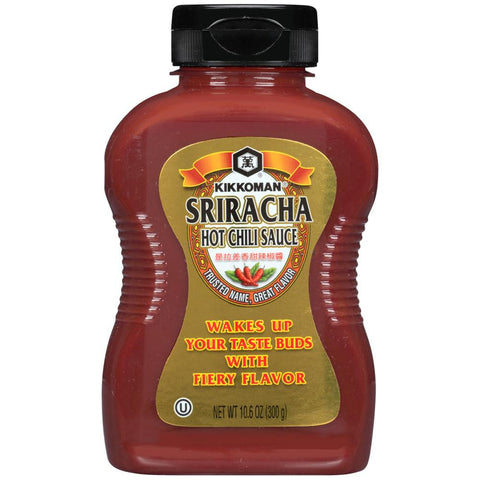 Kikkoman Sriracha Hot Chili Sauce 10.6 Oz (Pack of 9)