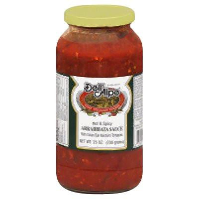Dell Alpe Arrabbiata Sauce, 25 OZ, (Pack of 6)