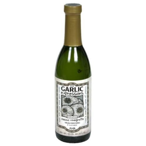 Garlic Expressions Classic Vinaigrette Salad Dressing & Marinade, 12.5 Oz (Pack of 12)