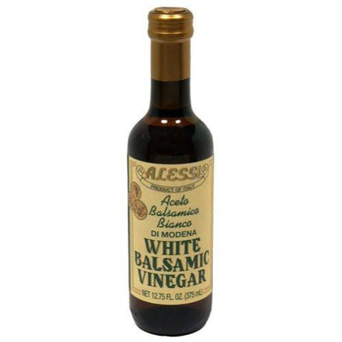 Alessi Vinegar, White Balsamic, 12.75 Oz (Pack of 6)