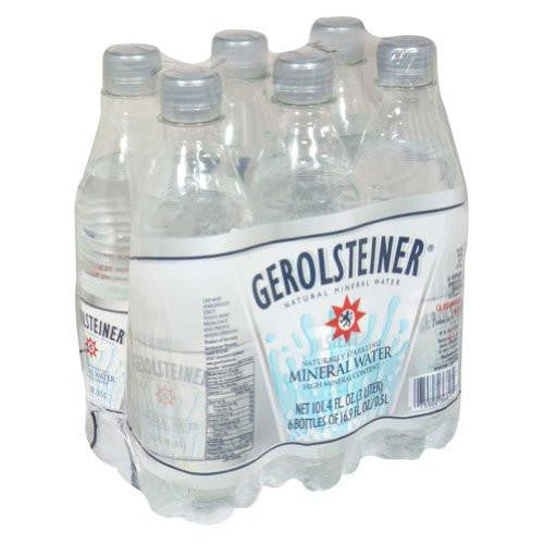 Gerolsteiner Sparkling Mineral Water, 16.9 Oz (Pack of 4)