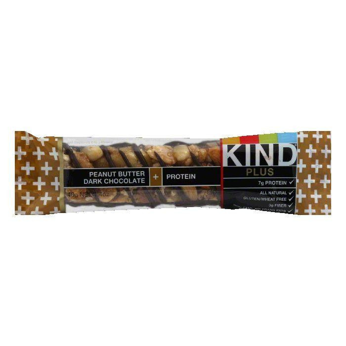 Kind Peanut Butter Chocolate Plus Bar, 1.4 OZ (Pack of 12)