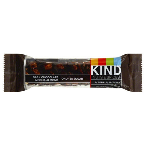 Kind Dark Chocolate Mocha Almond Nuts & Spices, 1.4 Oz (Pack of 12)