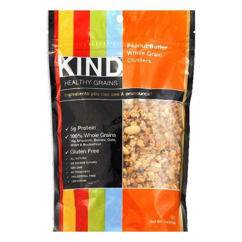Kind Whole Grain Peanut Butter Clusters, 11 OZ (Pack of 6)