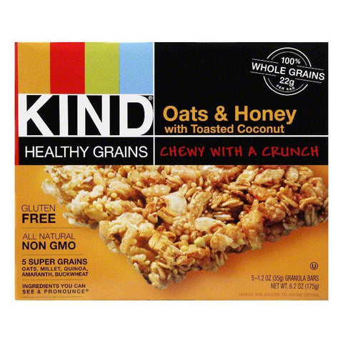 Kind Bar Granola Oat Honey Coconut 5pk Gluen Free, 6 OZ (Pack of 8)