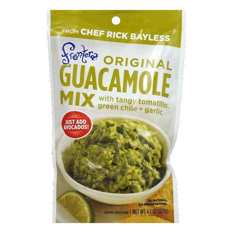 Frontera Guacamole Mix Pouch, 4.5 OZ (Pack of 8)