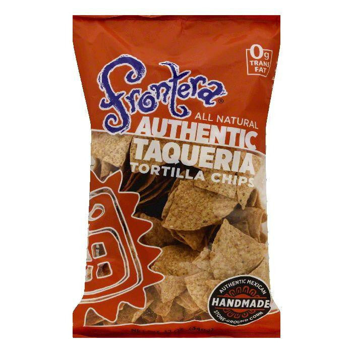 Frontera Authentic Taqueria Tortilla Chips, 12 OZ (Pack of 12)