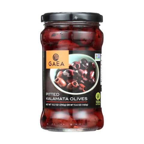 GAEA Pitted Kalamata Olives, 5.6OZ (Pack of 8)