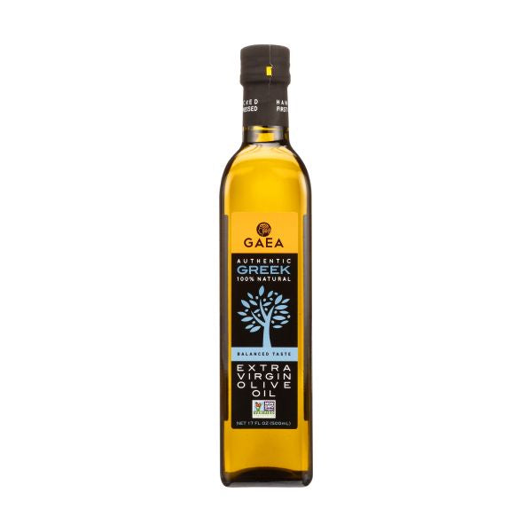 GAEA Authentic Greek Extra Virgin Olive Oil, 17 OZ (Pack of 6)