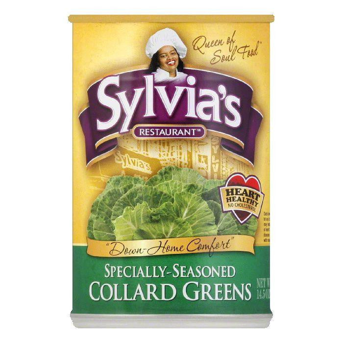 Sylvia's Collard Greens, 14.5 OZ (Pack of 12)