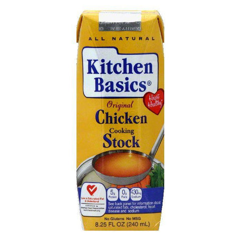 Kitchen Basics Original Chicken Cooking Stock, 8.25 Oz (Pack of 12)