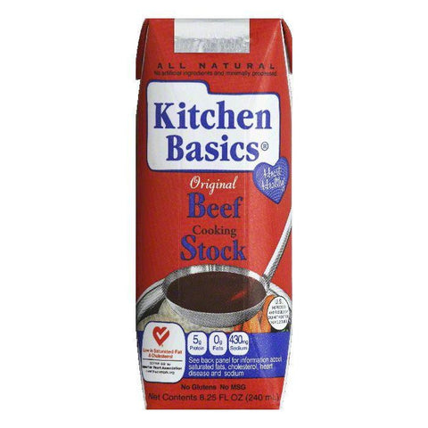 Kitchen Basics Beef Stock, 8.25 OZ (Pack of 12)