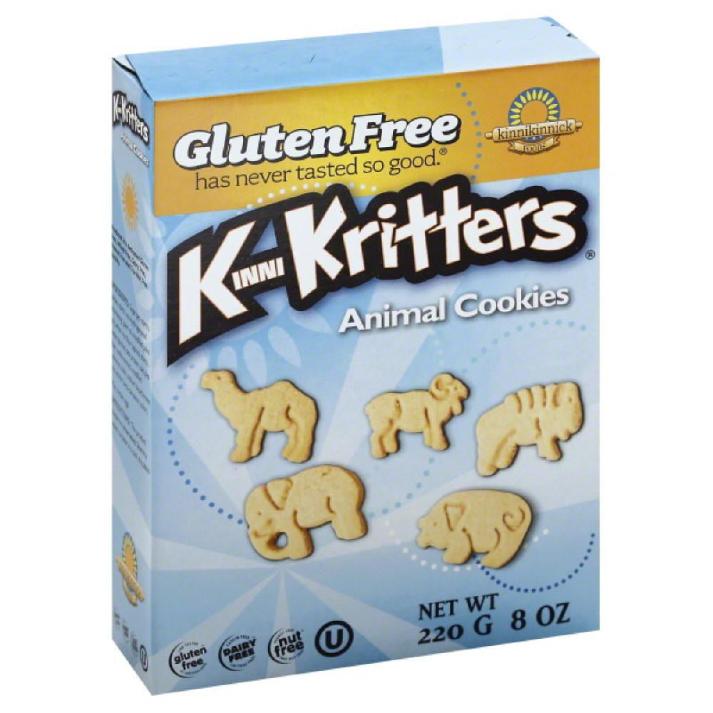 Kinnikinnick KinniKritters Animal Cookies, 8 Oz (Pack of 6)