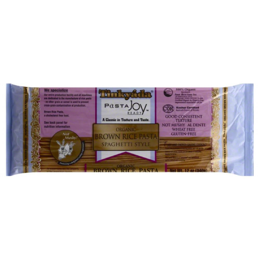 Tinkyada Organic Brown Rice Spaghetti Style Pasta, 12 Oz (Pack of 12)