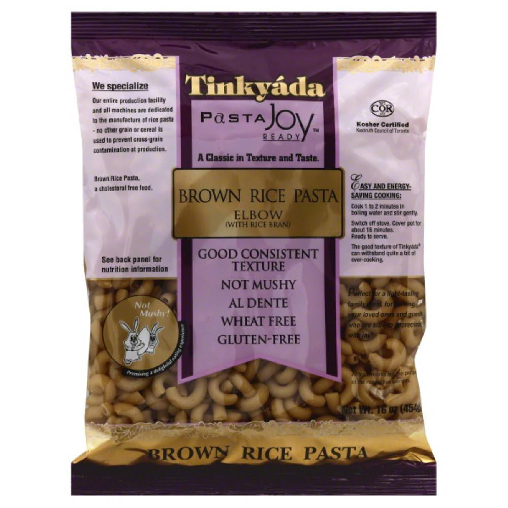 Tinkyada Elbow Brown Rice Pasta, 16 Oz (Pack of 12)